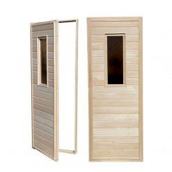 ვერხვის საუნის კარები 70X1800 EXTRA -1 ცალი