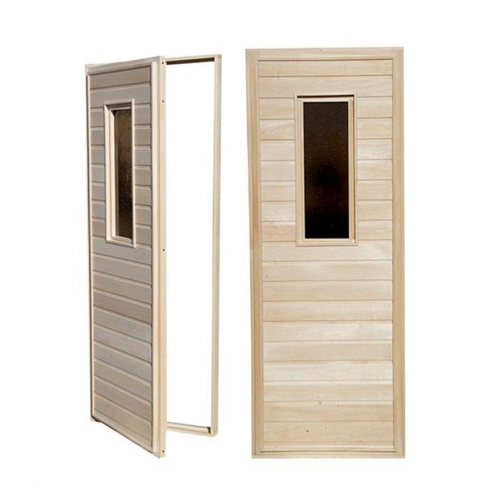 საუნის კარები