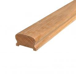 """ნაძვი-ფიჭვის ხის კიბის ზედაპირი """"სახელური"""" 46X67X4000 A – 1 ცალი"""