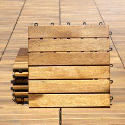 აკაციის ტერასის ასაწყობი იატაკი  (თერმულად ზეთით) 2,4X30X30  (6) – 1 ცალი