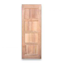 """ტროპიკული ხის """"ღეომბის""""კარები  35X800X2200  – 1 ცალი"""