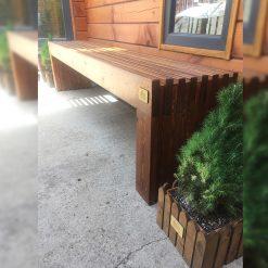 ლარიქსის (ლისტვინიცის) ხის სკამი 470X350X 2000 – 1 ცალი