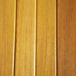 """ტროპიკული ხის """"ოკანის"""" საფასადე და სატერასე პლანკენი -1მ2"""