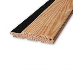 ლარიქსის (ლისტვინიცის) ხის პანელი ზებრა 12X88X4000 – 1 მ2