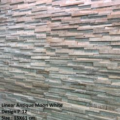 ევკალიპტი კედლის ასაწყობი დეკორატიული 3D პანელი ( DESIGN P-12) – 1მ2