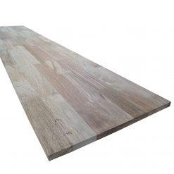 """ტროპიკული ხის """"ღეომბის"""" ავეჯის დაფა 22X600X2900  AB – 1 ცალი"""