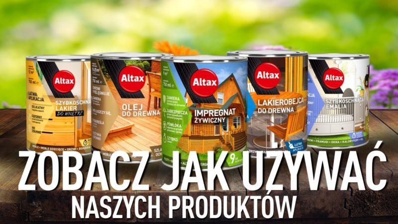Altax – ხის ლაქი შიდა სამუშაოებისთვის