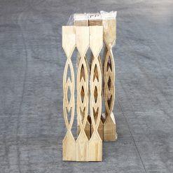 ნაძვი-ფიჭვის რიკული (ბრტყელი ოვალი) 18X90X900 A – 1 ცალი