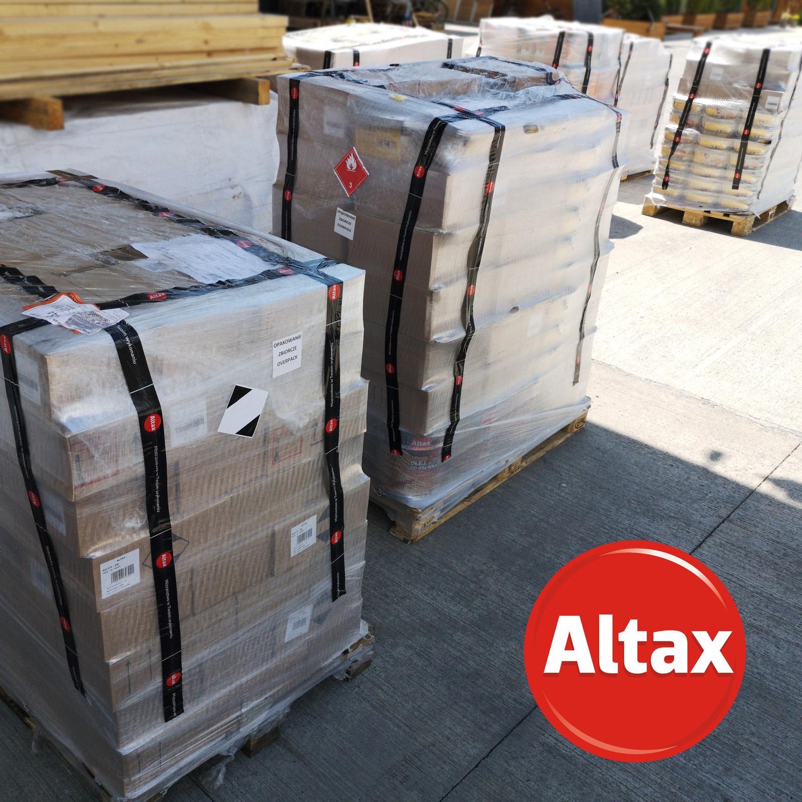 """""""ეკოვუდში"""" """"ALTAX""""-ის პროდუქციის  მარაგების განახლება მიმდინარეობს!"""