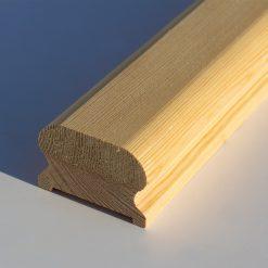 ლარიქსის ხის კიბის სახელური 46X67X4000 A – 1 ცალი