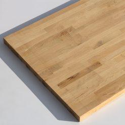 მუხის ხის ავეჯის დაფა (სამზარეულოს ზედაპირი) 38X650X2500 AB – 1 ცალი