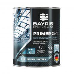 Bayris – ანტიკოროზიული გრუნტი-პრაიმერი (2-1ში) ალკიდური – 0.9კგ